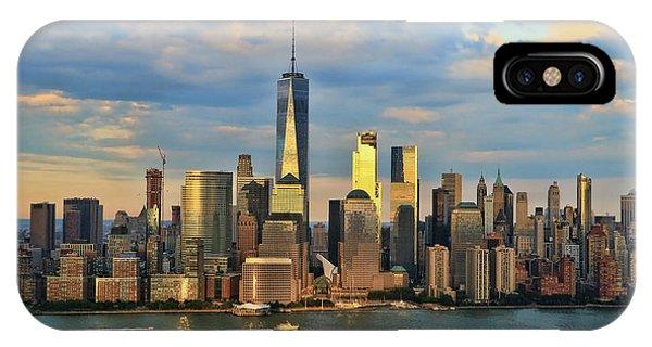 Sunset On Lower Manhattan IPhone Case