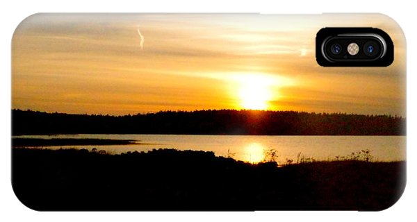 Sunset On Morrison Beach IPhone Case