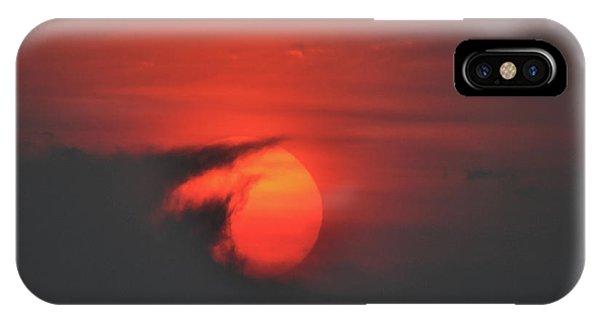 Sunset On Plum Island IPhone Case