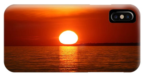 Sunset On Superior IPhone Case