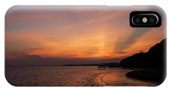Sunset On The Bay IPhone Case