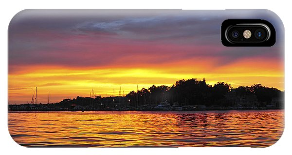 Sunset On The Bay Island Heights Nj IPhone Case