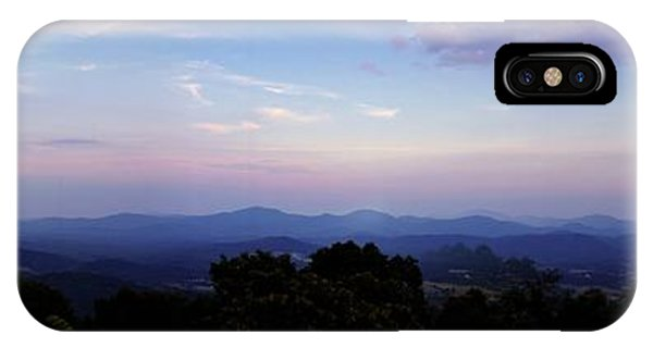 Sunset On The Blue Ridge IPhone Case