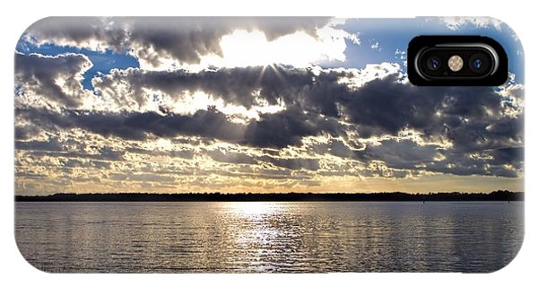 Sunset On The Cape Fear River IPhone Case