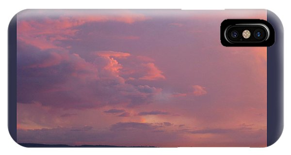 Sunset On The Hood Canal IPhone Case