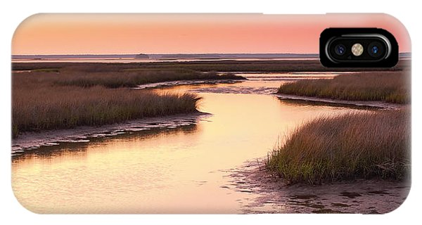 Wakulla iPhone Case - Sunset On The Marsh by Bill Chambers