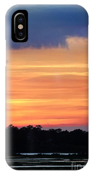 Sunset On The Marsh IPhone Case