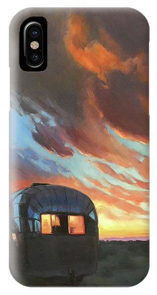 Sunset On The Mesa IPhone Case