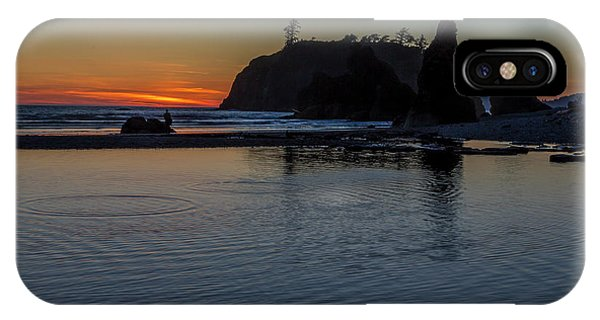 Sunset On The Oregon Coast IPhone Case