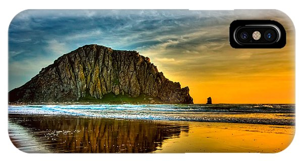 Sunset On The Rocks IPhone Case