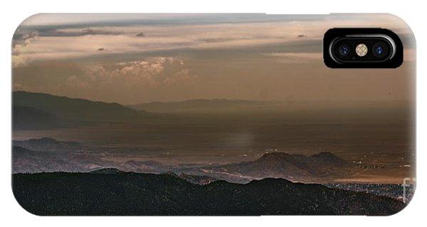 Sunset On The Sandias IPhone Case