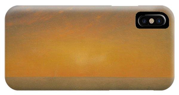 Endless iPhone Case - Sunset On The Sea, 1872 by John Frederick Kensett