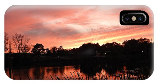 iPhone Case - Sunset On The Shoreline by Red Cross