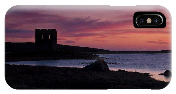 Sunset On Uist Phone Case by Gabor Pozsgai