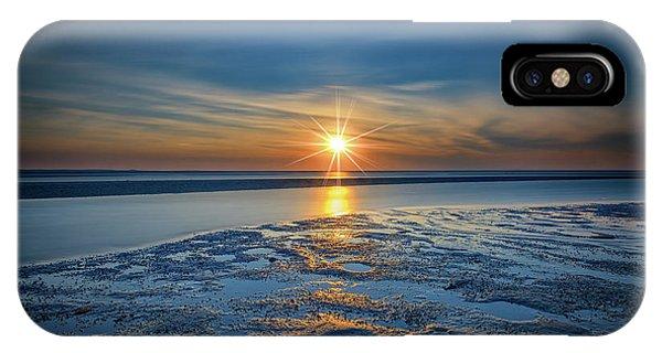 Tidal iPhone Case - Sunset On West Meadow Beach by Rick Berk