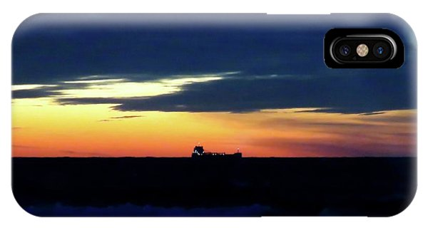 Sunset On Winter Solstice Eve IPhone Case