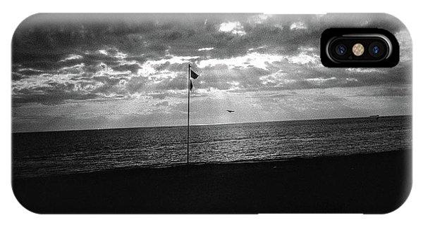 Sunset Ostia Beach IPhone Case