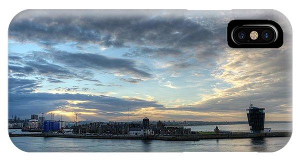 Sunset Over Aberdeen IPhone Case