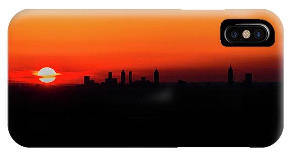 Sunset Over Atlanta IPhone Case