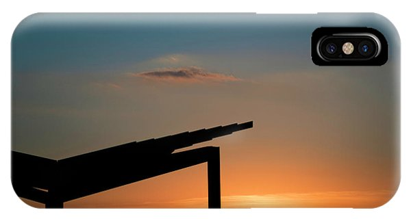Sunset Over Austin City Limits Festival Week One 2017 IPhone Case