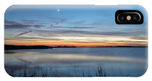 Sunset Over Back Bay IPhone Case