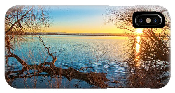 Sunset Over Barr Lake IPhone Case