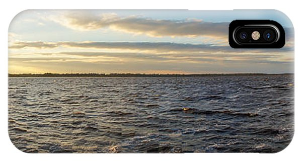 IPhone Case featuring the photograph Sunset Over Cape Fear River by Willard Killough III