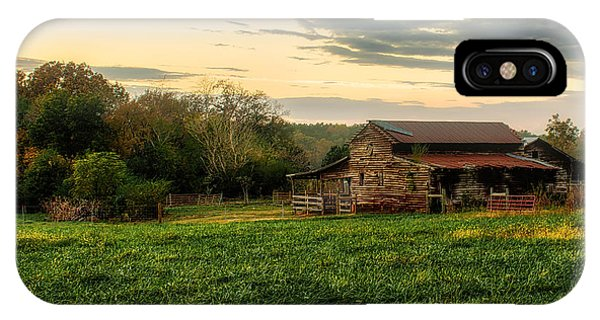 Sunset Over Dogwood Ridge IPhone Case
