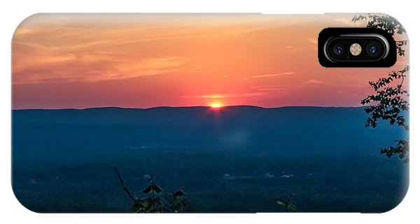 Sunset Over Easthampton IPhone Case
