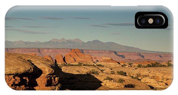 Sunset Over Elephant Canyon IPhone Case