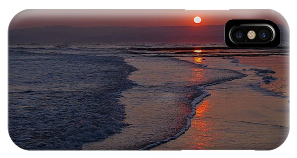 Sunset Over Exmouth Beach IPhone Case