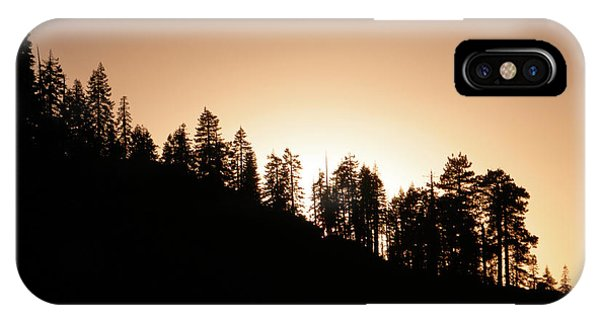 Sunset Over Glacier Point IPhone Case