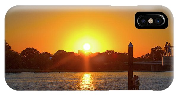 Sunset Over Hains Point IPhone Case