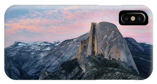 Sunset Over Half Dome IPhone Case
