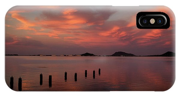 Sunset Over Kaneohe Bay IPhone Case