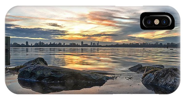 Sunset Over Lake Kralingen  IPhone Case