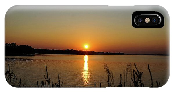 Sunset Over Lake Norman IPhone Case