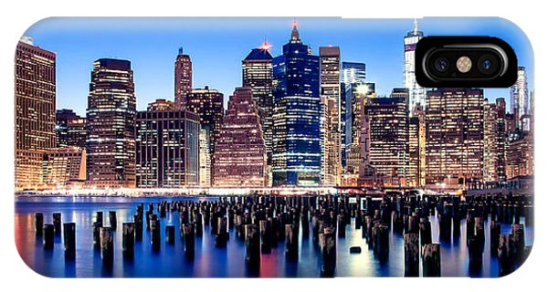 Downtown iPhone Case - Magic Manhattan by Az Jackson