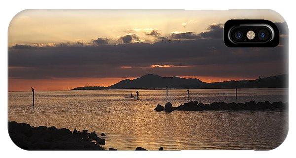 Sunset Over Maunalua Bay IPhone Case