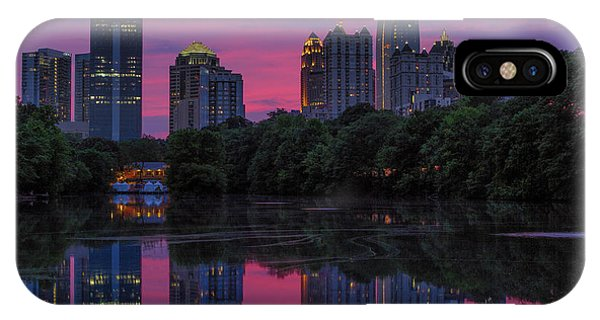 Sunset Over Midtown IPhone Case