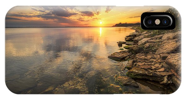 Sunset Over Milford Lake IPhone Case