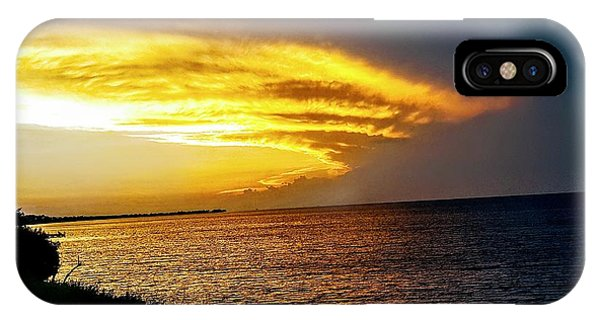 Sunset Over Mobile Bay IPhone Case