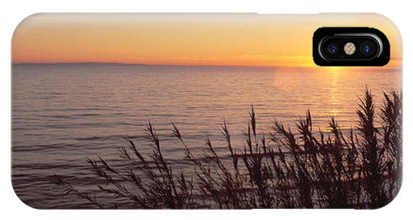 Sunset Over Pacific Ocean Near Santa IPhone Case
