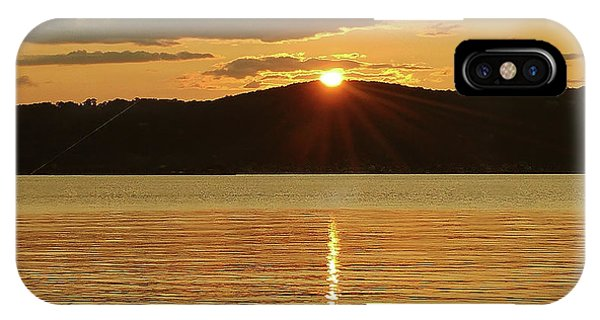 Sunset Over Piermont IPhone Case
