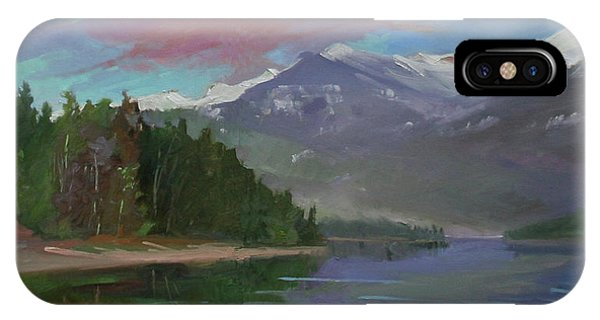 Sunset Over Priest Lake, Id IPhone Case
