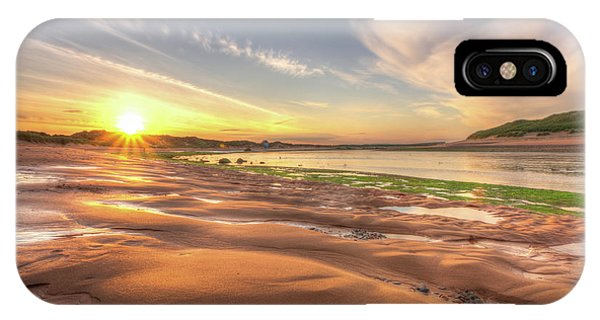 Sunset Over River Ythan IPhone Case