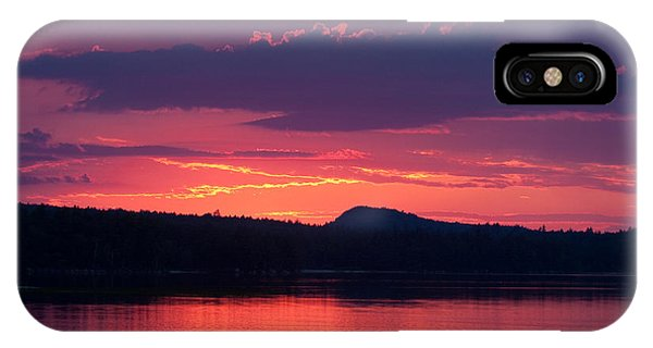Sunset Over Sabao IPhone Case
