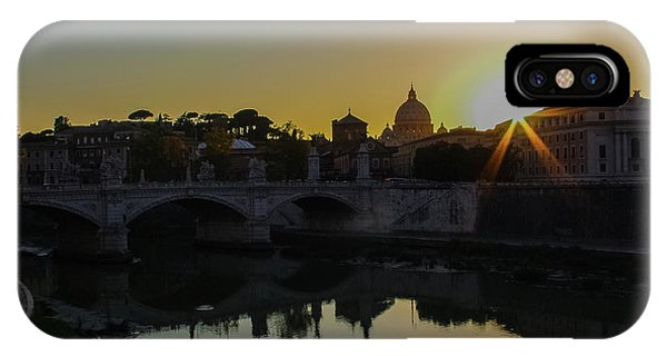 Sunset Over St Peters IPhone Case