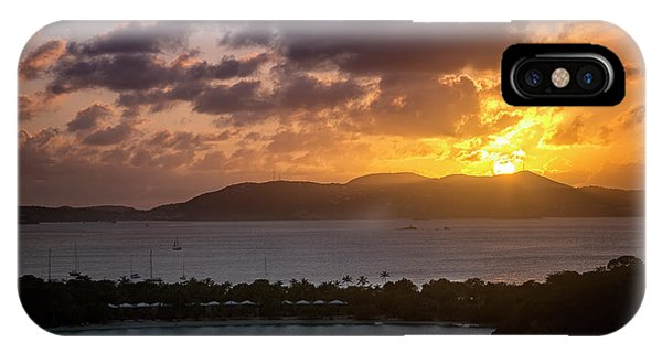 IPhone Case featuring the photograph Sunset Over St. Thomas by Adam Romanowicz