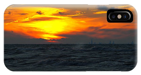 Sunset Over The City IPhone Case